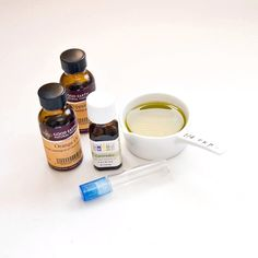 Headache soother: 10 drops Lavender, 10 drops Peppermint, 10 drops Orange... Fill rest of roller bottle with carrier or choice. (this site used olive oil)