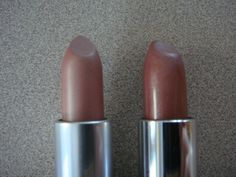 "Maybelline Color Sensational Lipstick in ""Nearly There"" = MAC Viva Glam V dupe"