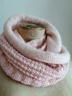 Eternity Scarf by Michele Wang - Follow the link to Ravelry to buy the pattern.
