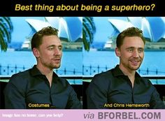 Even Tom Hiddleston Can't Get Enough…