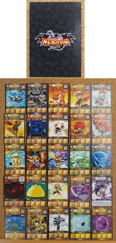 Monster Retsuden Oreca Battle : 25 Japanese Trading Cards http://www.japanstuff.biz/ CLICK THE FOLLOWING LINK TO BUY IT ( IF STILL AVAILABLE ) http://www.delcampe.net/page/item/id,0382081662,language,E.html