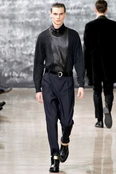 Yves Saint Laurent Man F/W 2012-13 |
