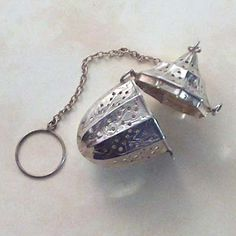 Antique Sterling Silver Tea Ball Infuser
