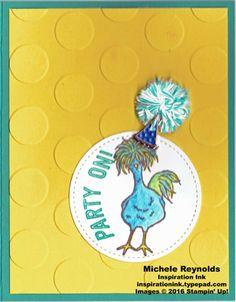Hey, Chick Pom Pom Party Hat Chicken