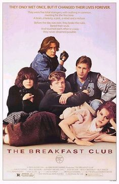 """The Breakfast Club"" > 1985 > Directed by: John Hughes > Comedy Drama / Coming-of-Age / Ensemble Film / Teen Movie / Drama"