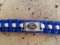 Ford Paracord Keychain