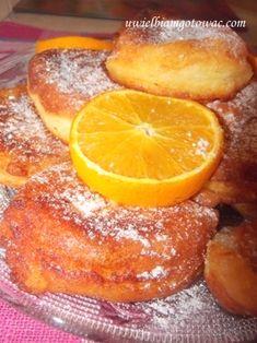 Placuszki z serka homogenizowanego Polish Recipes, Dessert Recipes, Desserts, Finger Foods, Food To Make, Biscuits, French Toast, Food And Drink, Favorite Recipes