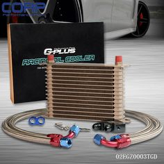 53.05$  Watch here - http://alitrb.shopchina.info/go.php?t=32716094642 - Universal 15 Row JDM Engine Oil Cooler Kit + Sandwich Plate fit for LS1 LS2 LS3 53.05$ #aliexpressideas