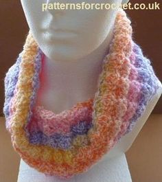 Make It Crochet   Your Daily Dose of Crochet Beauty   Free Crochet Pattern: A Neck Cowl
