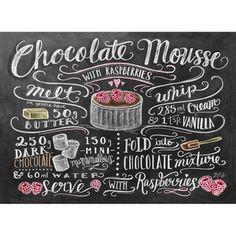 Plakát Lily & Val Chocolate Mouse