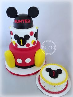 Awesome Picture of Mickey Mouse First Birthday Cake . Mickey Mouse First Birthday Cake Mickey Mouse Birthday Cake Smash Cake Cakecentral Mickey 1st Birthdays, Minnie Mouse Birthday Invitations, Mickey Mouse First Birthday, 1st Birthday Cakes, Mickey Mouse Parties, Mickey Party, 1st Boy Birthday, Birthday Ideas, Mickey Mouse Birthday Decorations