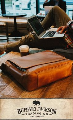 For the times you don't need a big bag, grab the Roosevelt Buffalo Leather Satchel Messenger. Vintage Leather Messenger Bag, Brown Leather Satchel, Leather Men, Leather Bags, Leather Backpacks, Cartier, Velvet Glove, Leather Passport Wallet, Men With Street Style