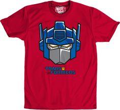 Optimus Prime Headmaster T-Shirt