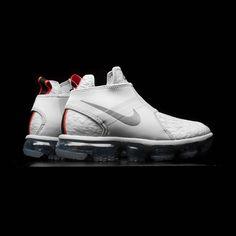 7bf5b1d651a The Nike Air VaporMax Chukka Slip Gets a Release Date  Pure platinum and  black options.