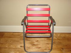 Fix an outdoor chair or swing with duct tape strapping!