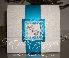 invitaciones de boda elegantes y modernas en azul - Buscar con Google