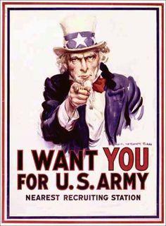 James Montgomery Flagg - 1917 http://jpdubs.hautetfort.com/archive/2013/09/02/affiches-de-propagande.html