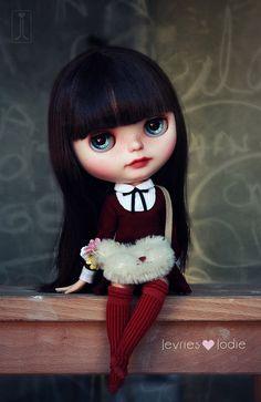 Keira Blythe custom art ooak doll por JevrieslovesJodie en Etsy