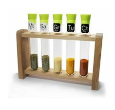 Loving this Test Tube Spice Rack. £20 at Will & Glory