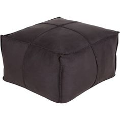 Robertson Cube Pouf Ottoman Reviews ❤ liked on Polyvore featuring home, furniture, ottomans, cube ottoman, cube furniture and cube footstool