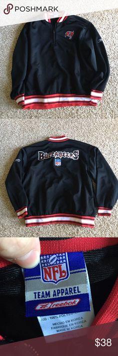 💝SALE💝 Tampa Bay Buccaneers jacket Like new, no flaws, has pockets, high quality! Reebok Jackets & Coats