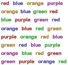 experimental psychology stroop effect The stroop effect refers to the fact that naming the color of the first set of words is easier and quicker than the second in psychology , the stroop effect is a demonstration of the reaction time of a task.
