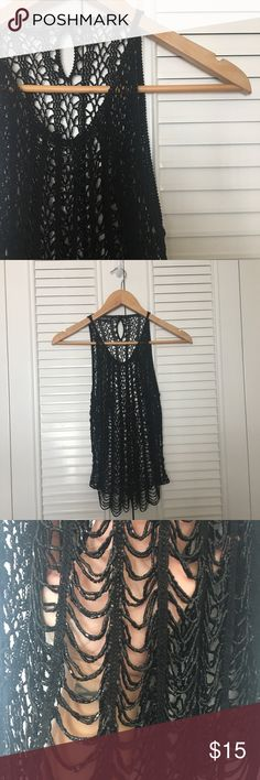 BEBE sequin top No snags. Beautiful sequin top. Perfect for a Great Gatsby party. bebe Tops Camisoles