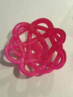Kosta Boda Pink bowl 10/10 $60 #kostaboda #artglass #pink #love #photography #like #nice #scramble #fruitbowl #ebay #follow Sold