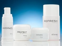 ElevenSkin Anti-aging kit. Super affordable for a luxurious skincare product at only $39.95 for a month's worth of product.