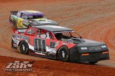 Dirt street stock race car