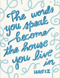 'The words you say become the house you live in ' letras Procreate Lettering Handwriting Alphabet, Hand Lettering Alphabet, Script Lettering, Tattoo Alphabet, Lettering Tattoo, Tattoo Script, Tattoo Fonts, Calligraphy Alphabet Tutorial, Hand Lettering Tutorial