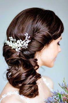 18 Timeless Wedding Hairstyles For Medium Length Hair ❤ See more…