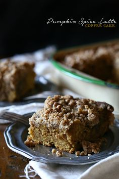 Pumpkin Spice Latte Coffee Cake by Nutmeg Nanny