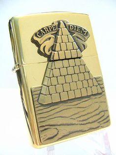Carpe Diem Surprise Zippo Lighter