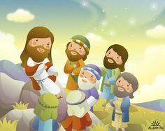 Imagens Fofas - Jesus e as Crianças