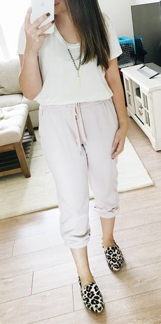 #fall #outfits women's gray sweat pants Click To Shop This Look.