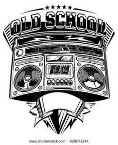 Tattoo Music Old School Hip Hop 26 Ideas Hip Hop Tattoo, Music Tattoos, New Tattoos, Tattoos For Guys, Arte Hip Hop, Hip Hop Art, Tatuaje Grim Reaper, Tattoo Musik, Music Drawings