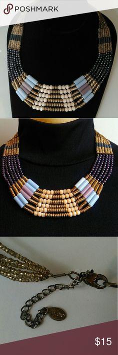 Aldo beaded fashion necklace Boho style necklace Aldo Jewelry Necklaces