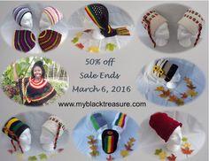 50% off - Sale Ends March 6, 2016  www.myblacktreasure.com/home/shop 50 Off Sale, Handmade Toys, Christmas Bulbs, Crochet Hats, March 6, Create, Holiday Decor, Shop, Black