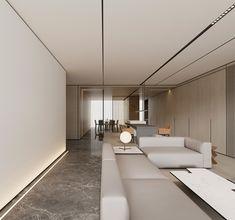 WLC - 原创作品 - 站酷(ZCOOL) Interior Concept, Interior Design, Home Trends, Luxury Apartments, Living Room Interior, Living Area, Interior Architecture, Furniture Design, Indoor