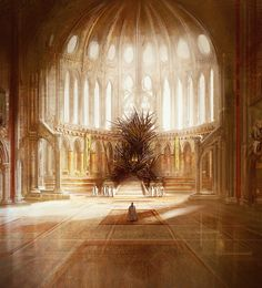 The Iron Throne -- HBO's art department should take a cue from this guy. Far more brutal-looking than the throne on the show.