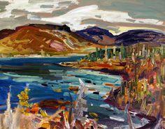 rené richard - Recherche Google Abstract Landscape Painting, Landscape Paintings, Canadian Painters, Sculpture, Objet D'art, Google, Painters, Objects, Landscape
