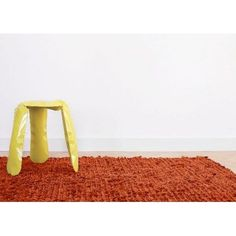 PETALOIDAL RUG, HAY: a field of soft wool - cosy, interior decoration and design