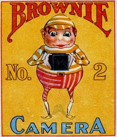Brownie de #Palmer #Cox em publicidade da Kodak. It built my hometown.
