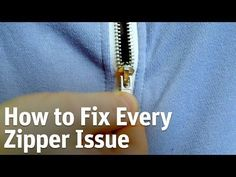 A Zipper Gets Stuck Or Won't Stay Up? Frustrated, She Found Simple Solutions To Zipper Problems Fix Broken Zipper, Zipper Stuck, Fix A Zipper, Zipper Repair, Zipper Pulls, Zipper Bags, Sewing Hacks, Sewing Tips, Sewing Projects
