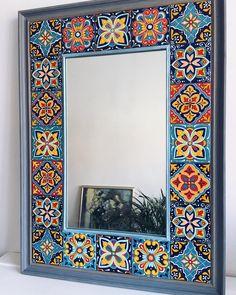 hippie style 234398355592794729 - Görüntünün olası içeriği: iç mekan Source by DemetYoung Home Decor Furniture, Painted Furniture, Diy Home Decor, Mirror Painting, Mirror Art, Stone Painting, Mirror Mosaic, Mosaic Art, Pottery Painting