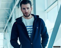 Chris Evans for Fila Sportswear Red Line Collection