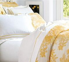 Toile Sheets, French Toile Bedding & Toile Linens | Pottery Barn