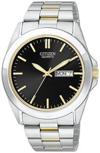 Citizen Analog Black Dial Men's Watch - BF0584-56E - Canopies The Online Store