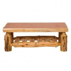 #Nilima Home              #table                    #Fireside #Lodge #Traditional #Cedar #Rectangular #Open #Coffee #Table #14075 #Accent #Tables #Decor    Fireside Lodge Traditional Cedar Log Rectangular Open Coffee Table - 14075 - Accent Tables - Decor                                http://www.seapai.com/product.aspx?PID=246118